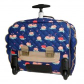 Young first 38 CM - LED Space wheeled backpack