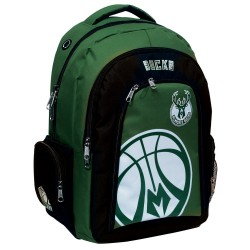 Sac à dos NBA Les Bucks vert 45 CM Haut de Gamme - Milwaukee