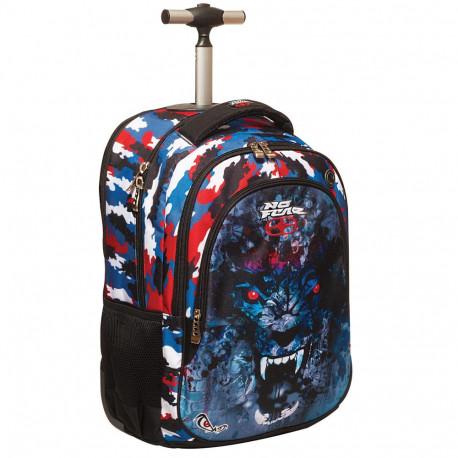 No Fear Jack 48 CM rolling bag - backpack