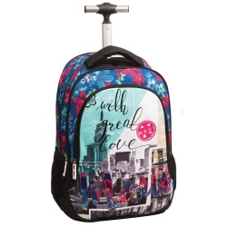 Rolling Backpack Maui & Sons New York 48 CM