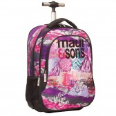 Maui & sounds Floral Beach 48 CM - Binder Surf rolling bag