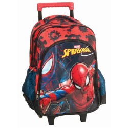 Sac à dos à roulettes Spiderman Marvel 43 CM HAUT DE GAMME - Cartable