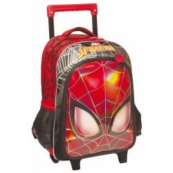 Mochila con ruedas Ojos de Spiderman 43 CM Trolley escolar