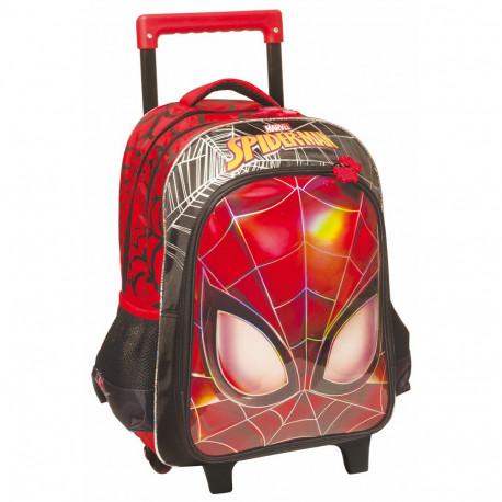 Sac à roulettes Spiderman Eyes 43 CM HAUT DE GAMME - Cartable