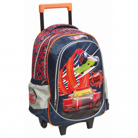 Rolling Backpack Hot Wheels Thrill 45 CM