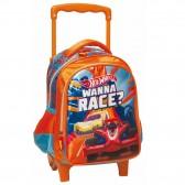 Sac à roulettes Hot Wheels trolley maternelle Race 31 CM - Cartable