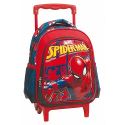 Rolling trolley maternal Spiderman Marvel 31 CM - satchel bag