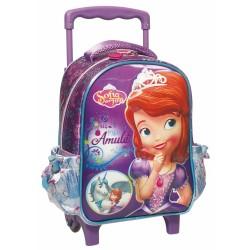 Princess Sofia Unicorn Maternal Trolley Backpack 31 CM - Cartable
