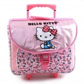 Cartable à roulettes Hello Kitty Glitter 41 CM Haut de Gamme