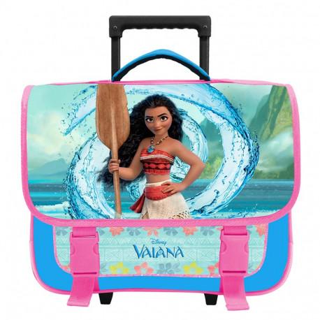 Nouveaux produits 27253 06046 Cartable à roulettes Vaiana Disney 38 CM Aventure Trolley Haut de gamme -  Cartable Moana