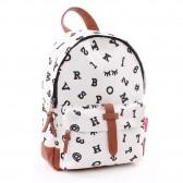Backpack black and white animals 31 CM k premium