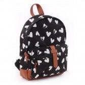 Backpack black and white moon 31 CM k premium