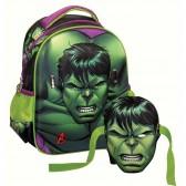 Materna HULK 31 CM - zaino borsa Avengers