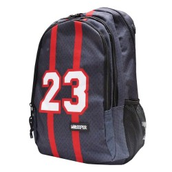 Sac à dos NBA Les Bulls noir 45 CM Unkeeper Haut de Gamme - Chicago