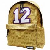 Sac à dos NBA Les Lakers jaune 42 CM Unkeeper Borne Haut de Gamme - Los Angeles