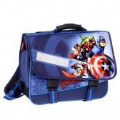 Cartable Avengers bleu 38 CM Haut de Gamme