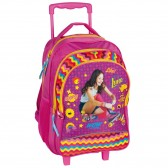 Backpack skateboard kitten Hello 45 CM trolley - Binder