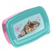 Box lunch gatito hola 18 CM