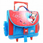 Backpack skateboard Minnie red 41 CM high end