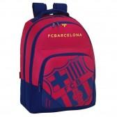 Sac à dos FC Barcelone Nation 42 CM ergonomique bleu et grenat - 2 Cpt