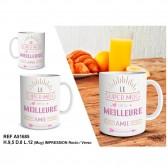"""Mug """" Le super mug de la meilleure amie """""""