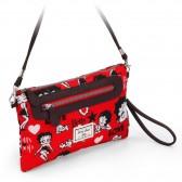 Sac bandoulière Betty Boop Handy rouge 28 cm