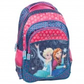 Backpack Elsa and Anna 43 CM - 2 Cpt snow Queen