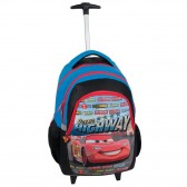 Rolling Backpack Cars Highway 45 CM - 2 Cpt Trolley