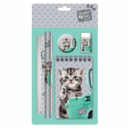Briefpapier kat Studio huisdieren instellen