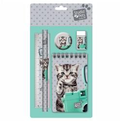 Set stationery cat Studio Pets