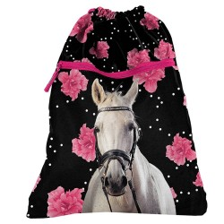 Sac piscine Cheval Flower 45 CM