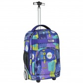 Rolling Backpack Wolf Town 51 CM Trolley
