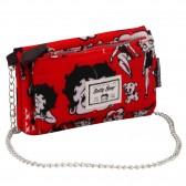 Portefeuille bandoulière Betty Boop Rouge Love 20 CM