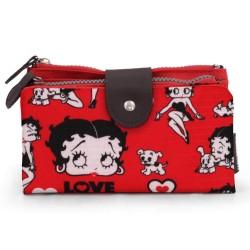 Portefeuille Betty Boop rode liefde 18 CM