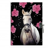 Journal intime Cheval Flower