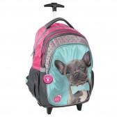 Skateboarding dogs Rachael 45 CM Studio Pets trolley - satchel backpack