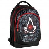 Sac à dos Assassin's Creed noir 45 CM - 2 Cpt