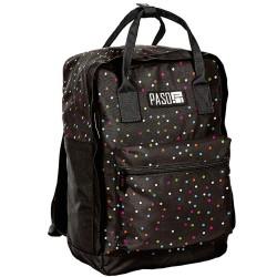 Backpack Paso black peas 37 CM