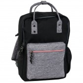Backpack black and grey 38 CM