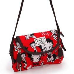 Betty Boop Rojo 22 CM bolso de hombro