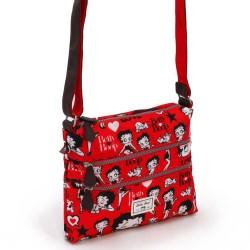 Sac bandoulière Betty Boop Rouge 30 CM