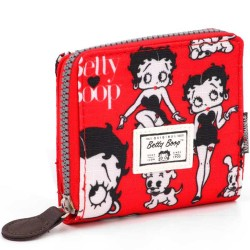 Portefeuille Betty Boop Rouge 11 CM