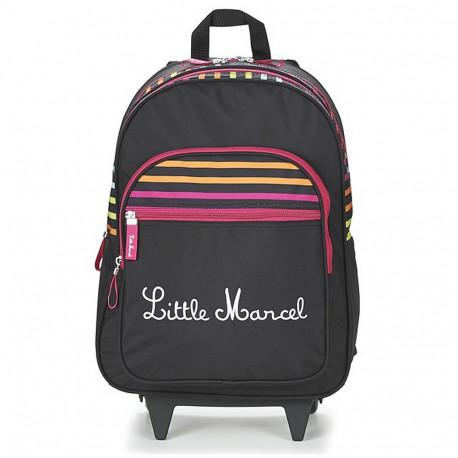 Sac à dos à roulettes Little Marcel RECTO Trolley 45 CM - Cartable