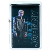 Lighter gasoline Johnny Hallyday blue