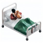 Figurine Joe Bar - In bed with Brasletti