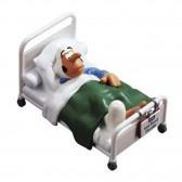 Figurine Joe Bar - Ducable à l'hopital
