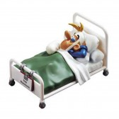 Figur-Joe Bar - Kabel im Krankenhaus