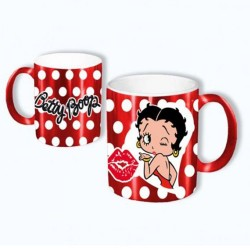 Betty Boop Red Mirror Mug