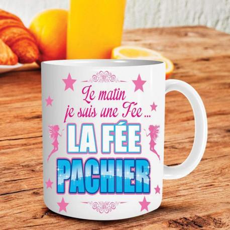 """Mug """"  Fée pas chier """""""