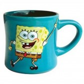 "Mug Sponge Bob ""you too much fun"""